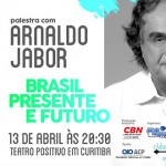 Palestra Arnaldo Jabor em Curitiba