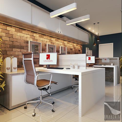 Serviço 01 . Design de Interiores de ambientes residenciais e corporativos