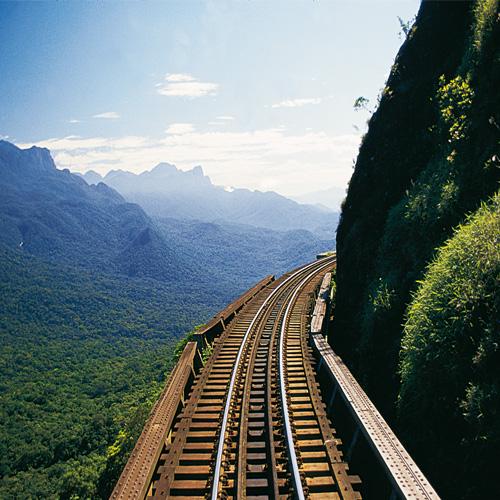 Viaduto do Carvalho um dos pontos altos da viagem