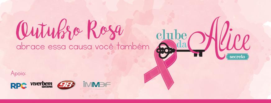 outubro rosa banner