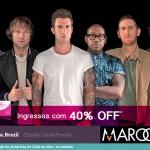 Maroon 5 vai sacudir Curitiba em Setembro