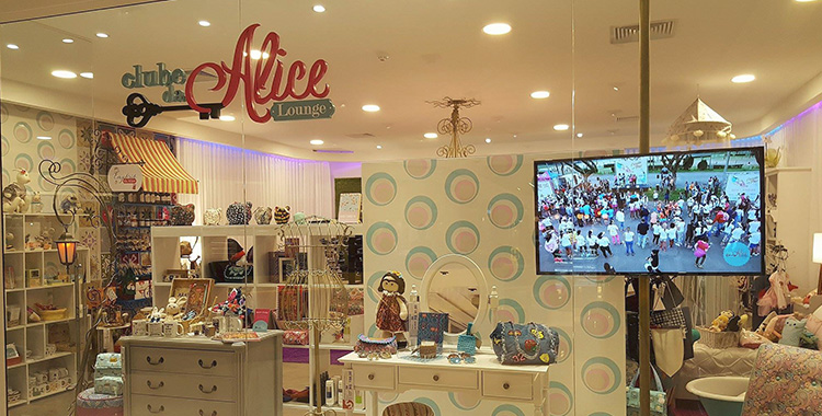 Clube da Alice Lounge – um projeto colaborativo