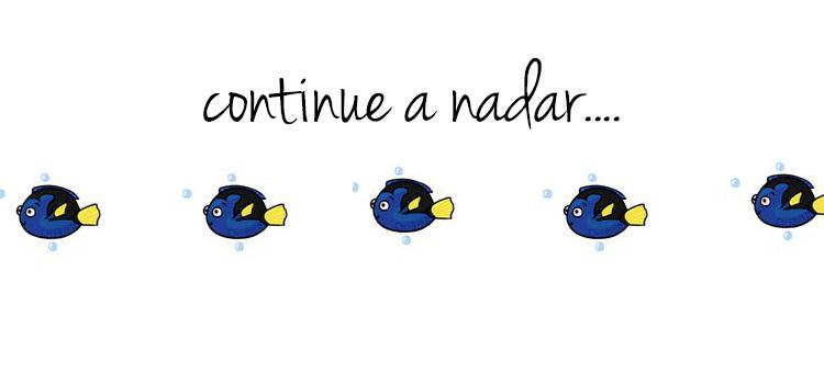 Continue a nadar….