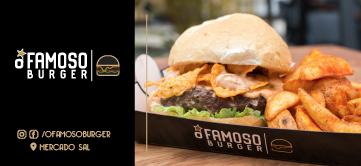 O Famoso Burger – Mercado Sal