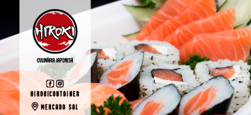 Hiroki Culinária Japonesa – Mercado Sal