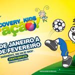 DISCOVERY KIDS EM AÇÃO NAS FÉRIAS DE VERÃO