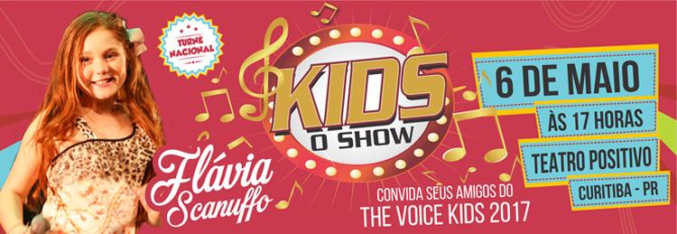 """""""Kids – O Show"""" chega a Curitiba"""