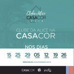 Clube da Alice na CASACOR