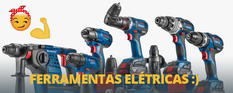 Quais ferramentas elétricas você não pode deixar de ter em casa