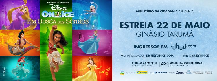 Disney on Ice, um sonho de espetáculo desembarca em Curitiba