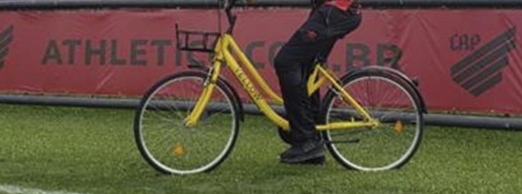 Athletico Paranaense terá bicicletas Yellow