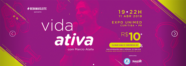 Apresentador do Fantástico Marcio Atalla vem à Curitiba
