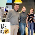 """Nós participamos do """"Dia Internacional de Portas Abertas"""" do McDonald's"""