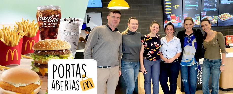 "Nós participamos do ""Dia Internacional de Portas Abertas"" do McDonald's"