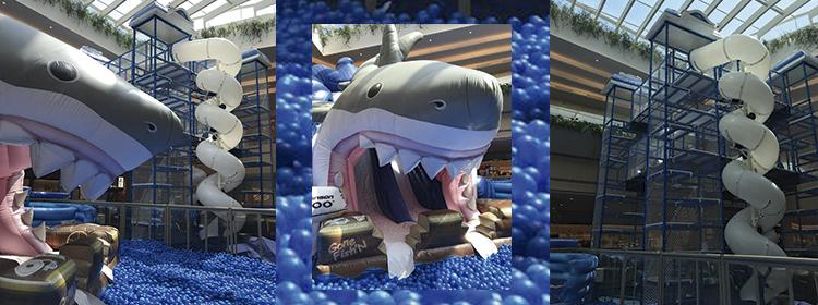 Que tal aproveitar o final de semana na boca de um tubarão gigante?