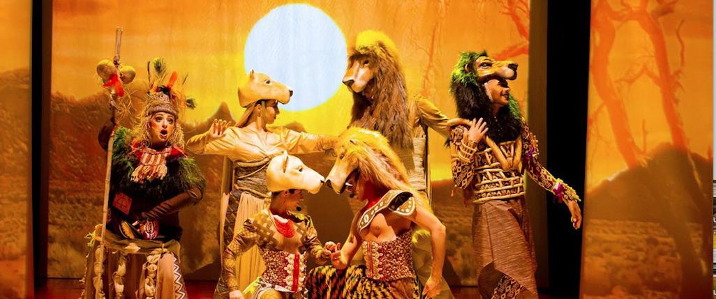 Musical Rei Leão em única apresentação no Teatro Guaíra