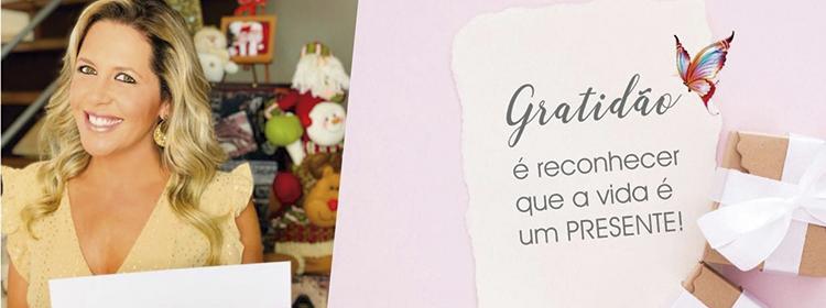 Gratidão é reconhecer que a vida é um presente