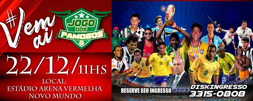 Com ídolos do esporte, Jogo dos Famosos acontece em Curitiba