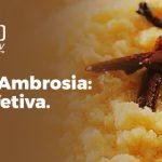 Receita de Ambrosia: culinária afetiva.